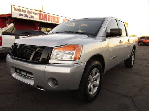 2010 Nissan Titan for sale at Van Buren Motors in Phoenix AZ