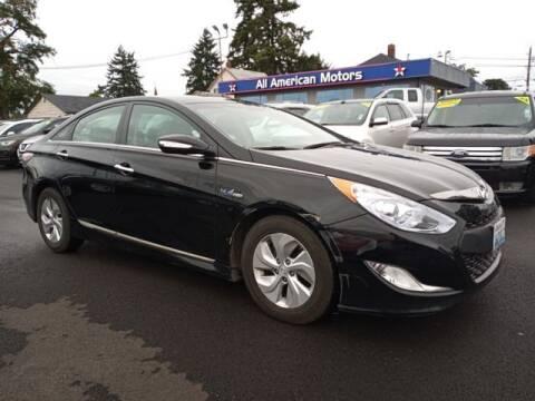 2015 Hyundai Sonata Hybrid for sale at All American Motors in Tacoma WA