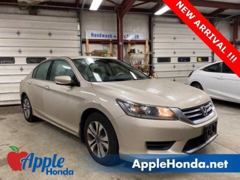 2015 Honda Accord for sale at APPLE HONDA in Riverhead NY