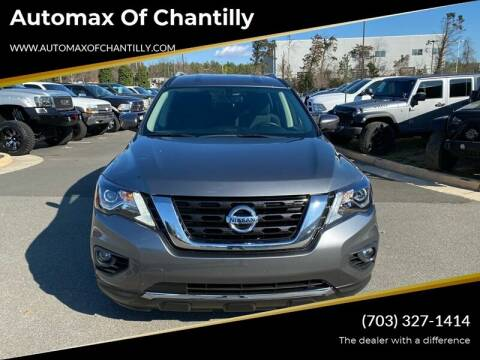 2019 Nissan Pathfinder for sale at Automax of Chantilly in Chantilly VA