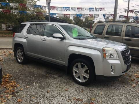 2010 GMC Terrain for sale at Antique Motors in Plymouth IN