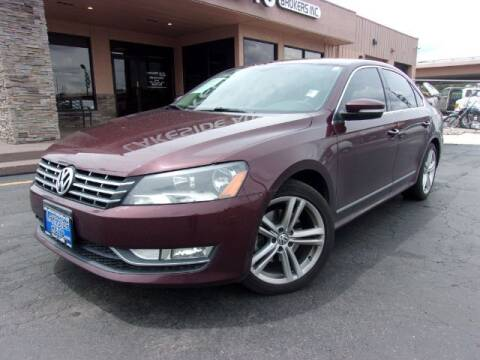 2013 Volkswagen Passat for sale at Lakeside Auto Brokers Inc. in Colorado Springs CO