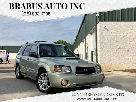 2005 Subaru Forester for sale at Car Time in Philadelphia PA