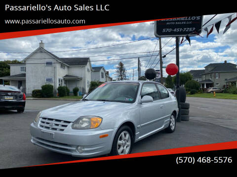 2005 Hyundai Accent for sale at Passariello's Auto Sales LLC in Old Forge PA