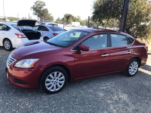 2015 Nissan Sentra for sale at Quintero's Auto Sales in Vacaville CA