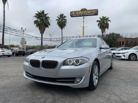 2013 BMW 5 Series for sale at A MOTORS SALES AND FINANCE - 10110 West Loop 1604 N in San Antonio TX