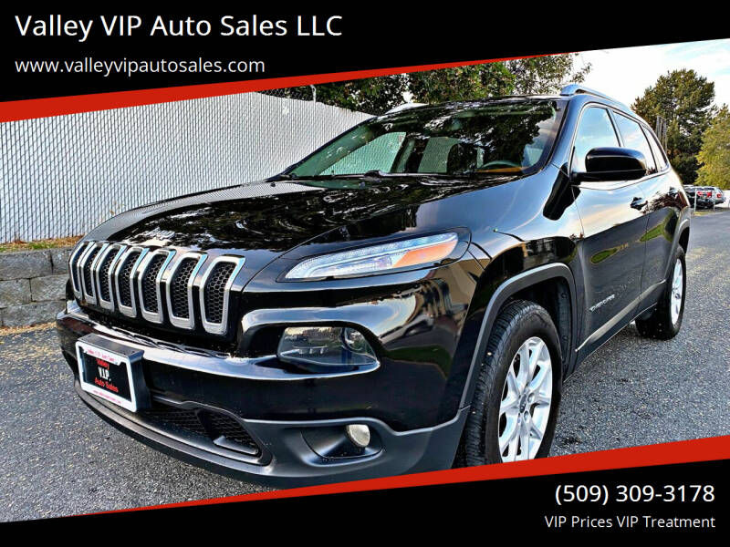 2015 Jeep Cherokee for sale at Valley VIP Auto Sales LLC in Spokane Valley WA