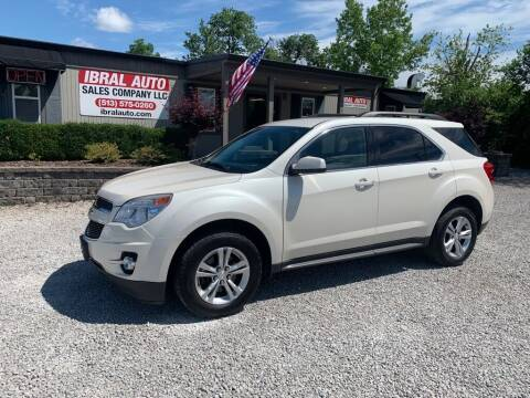 2014 Chevrolet Equinox for sale at Ibral Auto in Milford OH