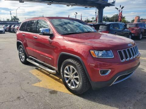 2014 Jeep Grand Cherokee for sale at America Auto Wholesale Inc in Miami FL