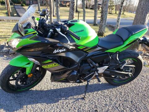 2018 Kawasaki Ninja  650 ABS for sale at G T Auto Group in Goodlettsville TN