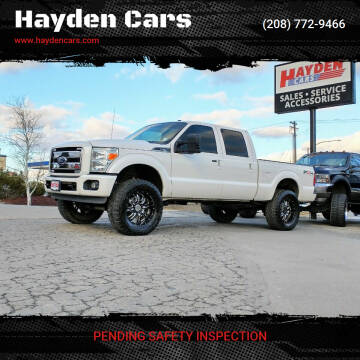 2011 Ford F-250 Super Duty for sale at Hayden Cars in Coeur D Alene ID