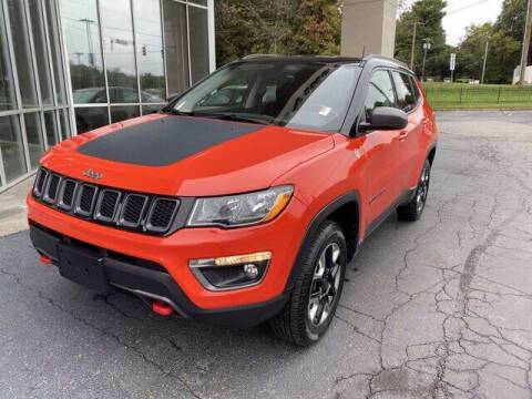 2017 Jeep Compass for sale at Credit Union Auto Buying Service in Winston Salem NC