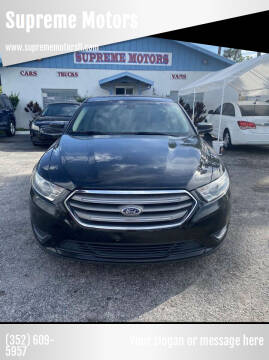 2013 Ford Taurus for sale at Supreme Motors in Tavares FL