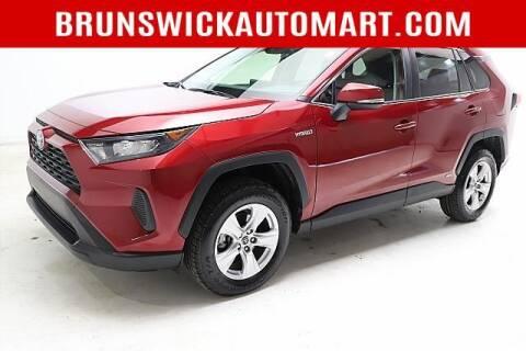 2019 Toyota RAV4 Hybrid for sale at Brunswick Auto Mart in Brunswick OH