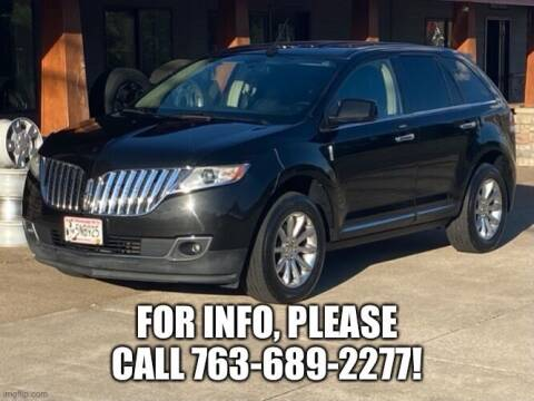 2011 Lincoln MKX for sale at Affordable Auto Sales in Cambridge MN