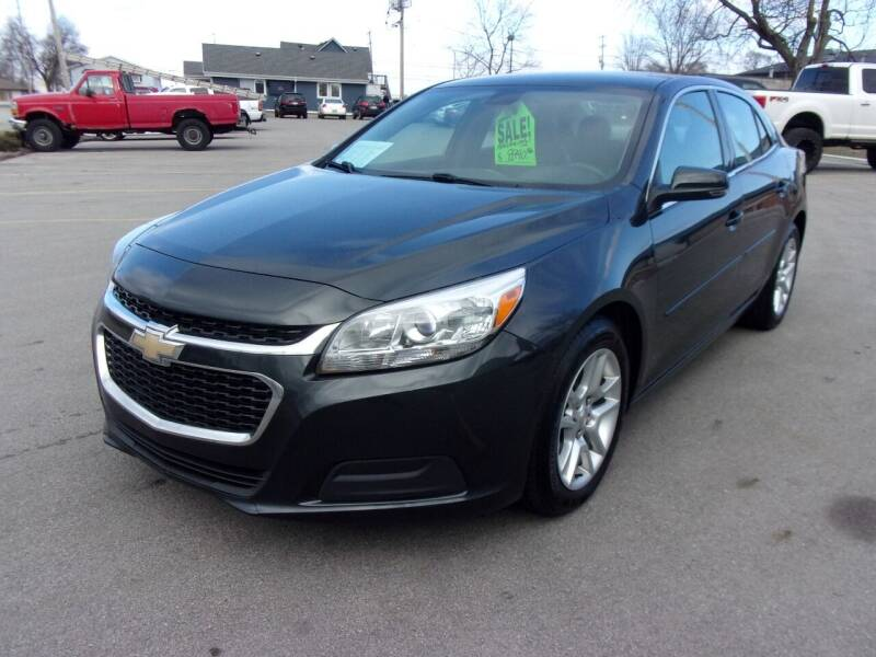 2015 Chevrolet Malibu for sale at Ideal Auto Sales, Inc. in Waukesha WI