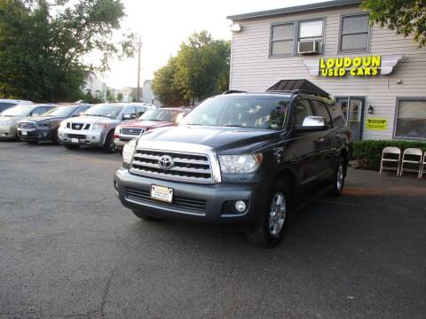 2008 Toyota Sequoia for sale at Loudoun Used Cars in Leesburg VA