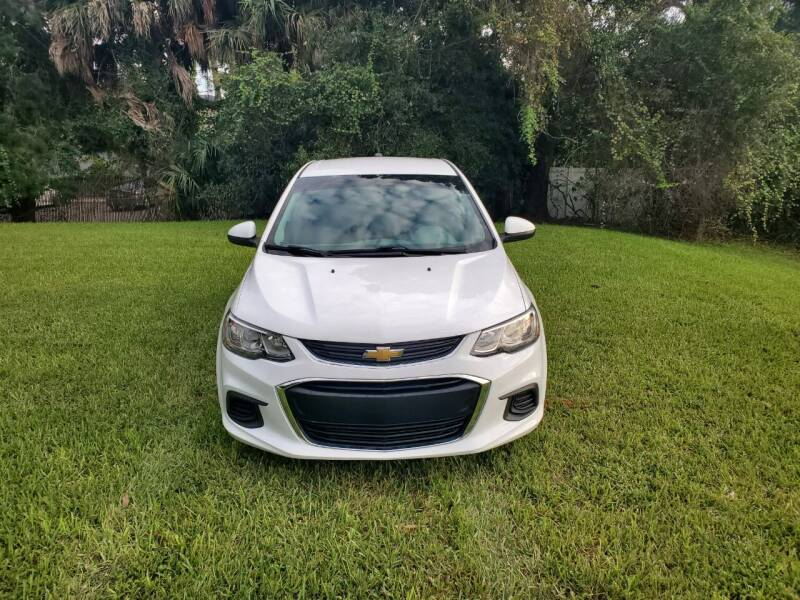 2017 Chevrolet Sonic for sale at Florida Motocars in Tampa FL