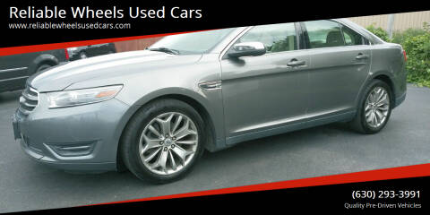 2013 Ford Taurus for sale at Reliable Wheels Used Cars in West Chicago IL