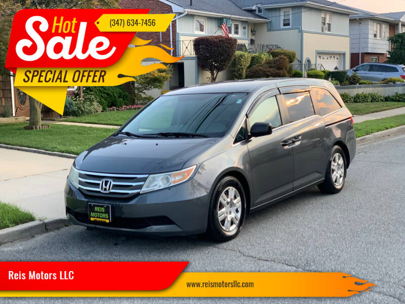 2011 Honda Odyssey for sale at Reis Motors LLC in Lawrence NY