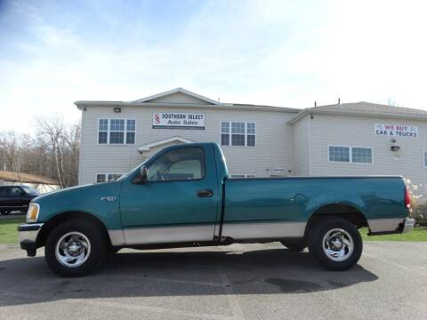 1998 Ford F-150 for sale at SOUTHERN SELECT AUTO SALES in Medina OH