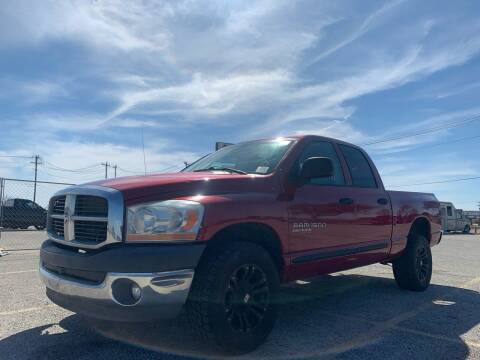 2006 Dodge Ram Pickup 1500 for sale at Hatimi Auto LLC in Buda TX