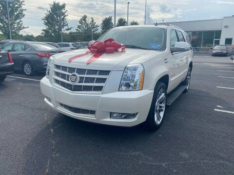 2013 Cadillac Escalade for sale at Charlotte Auto Group, Inc in Monroe NC