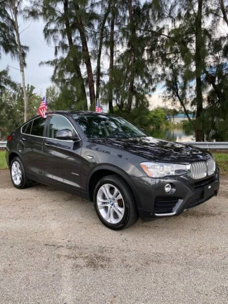 2017 BMW X4 for sale at United Auto Center in Davie FL