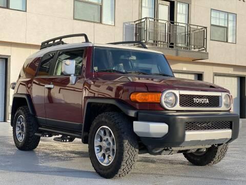 2011 Toyota FJ Cruiser for sale at Avanesyan Motors in Orem UT