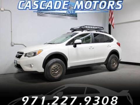 2014 Subaru XV Crosstrek for sale at Cascade Motors in Portland OR