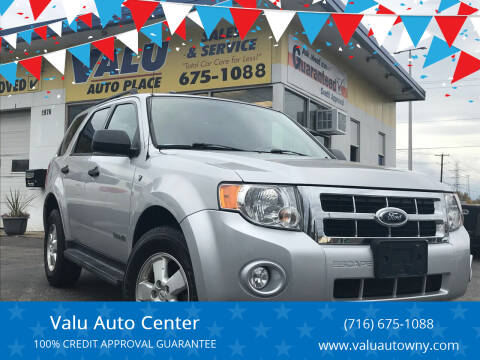 2008 Ford Escape for sale at Valu Auto Center in West Seneca NY