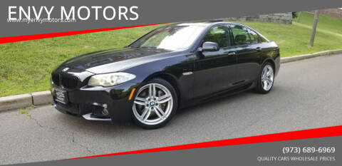 2013 BMW 5 Series for sale at ENVY MOTORS LLC in Paterson NJ
