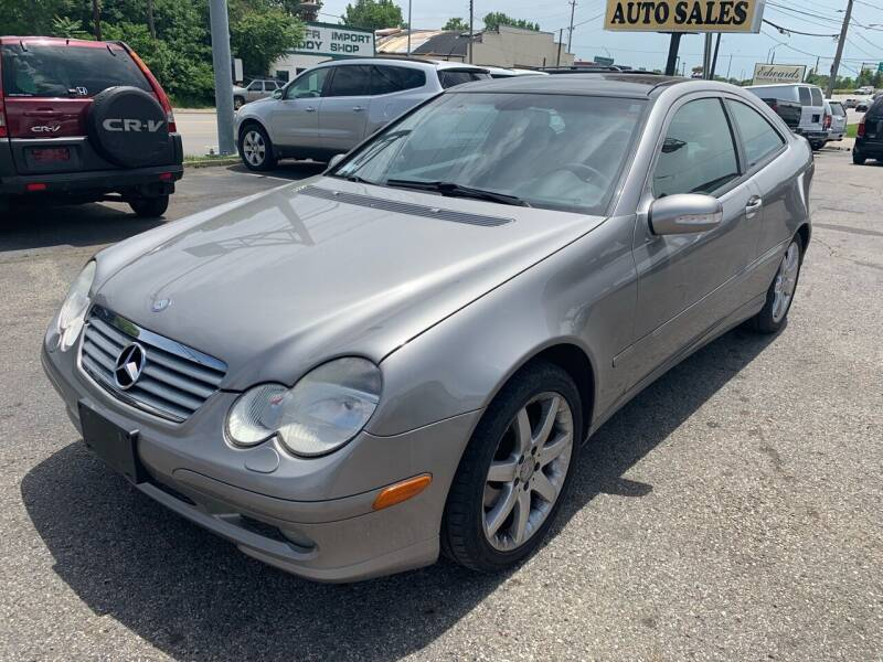 2003 Mercedes-Benz C-Class for sale at Kellis Auto Sales in Columbus OH