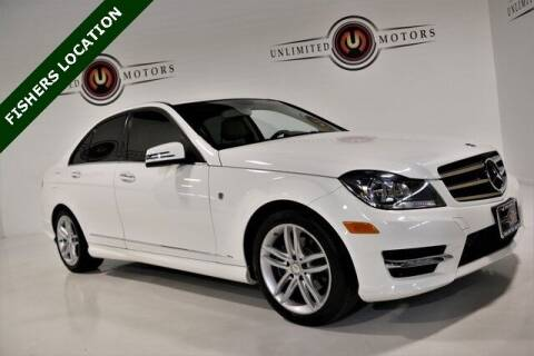 2014 Mercedes-Benz C-Class for sale at Unlimited Motors in Fishers IN