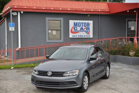 2015 Volkswagen Jetta for sale at Motor Car Concepts II - Kirkman Location in Orlando FL
