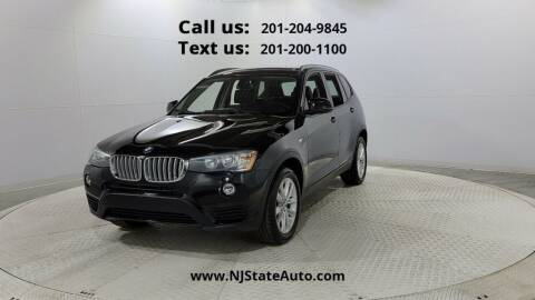 2016 BMW X3 for sale at NJ State Auto Used Cars in Jersey City NJ