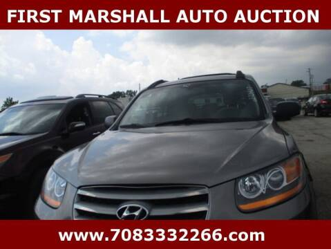 2012 Hyundai Santa Fe for sale at First Marshall Auto Auction in Harvey IL