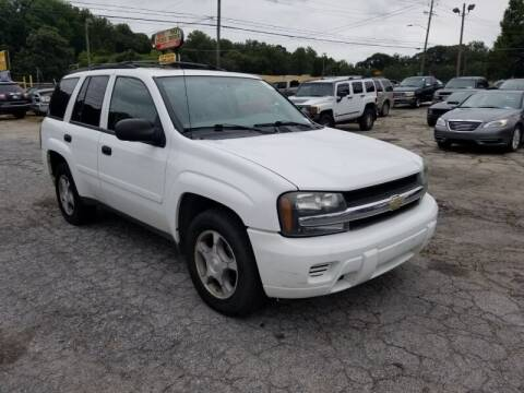 2008 Chevrolet TrailBlazer for sale at DREWS AUTO SALES INTERNATIONAL BROKERAGE in Atlanta GA