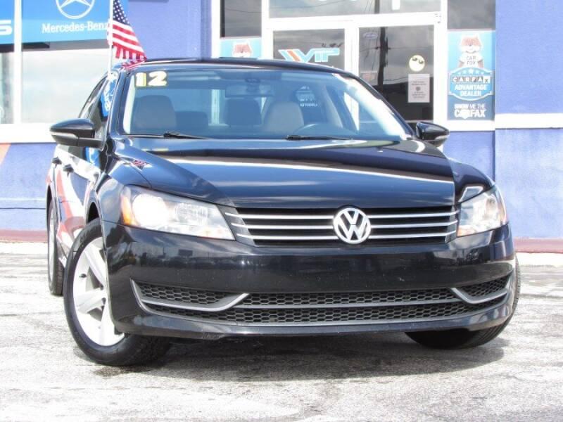 2012 Volkswagen Passat for sale at VIP AUTO ENTERPRISE INC. in Orlando FL