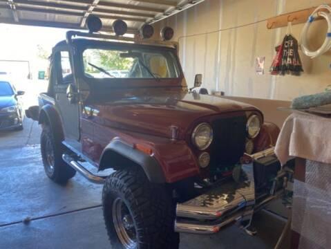 1980 Jeep CJ-5 for sale at Classic Car Deals in Cadillac MI