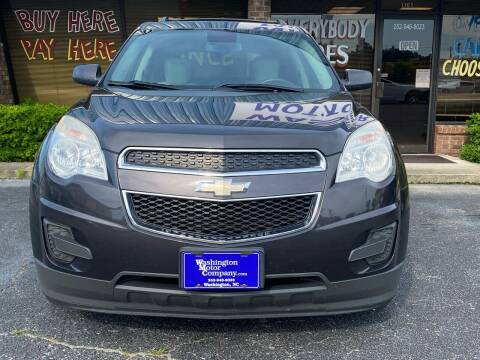 2013 Chevrolet Equinox for sale at Greenville Motor Company in Greenville NC