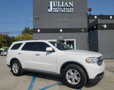 2013 Dodge Durango for sale at Julian Auto Sales, Inc. in Warren MI