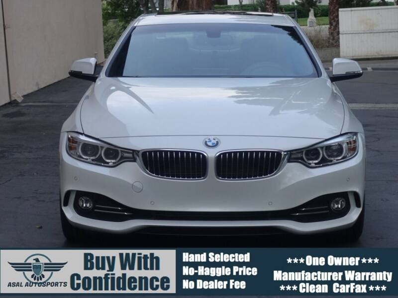 2016 BMW 4 Series for sale at ASAL AUTOSPORTS in Corona CA