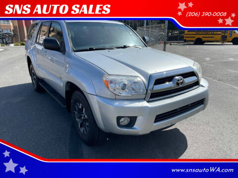 2008 Toyota 4Runner for sale at SNS AUTO SALES in Seattle WA