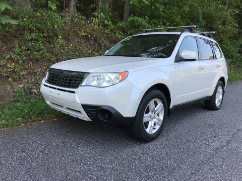 2009 Subaru Forester for sale at Lenoir Auto in Lenoir NC