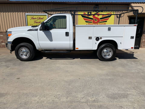 2015 Ford F-250 Super Duty for sale at BIG 'S' AUTO & TRACTOR SALES in Blanchard OK