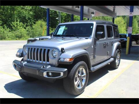 2018 Jeep Wrangler Unlimited for sale at Inline Auto Sales in Fuquay Varina NC