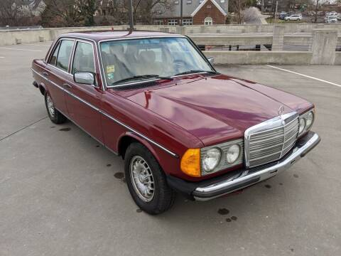 1985 Mercedes-Benz 230e for sale at QC Motors in Fayetteville AR