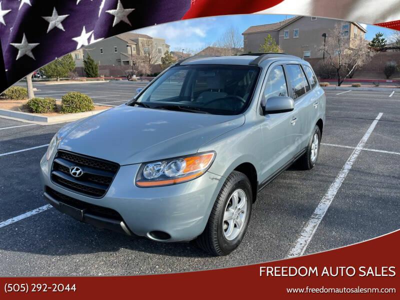2008 Hyundai Santa Fe for sale at Freedom Auto Sales in Albuquerque NM
