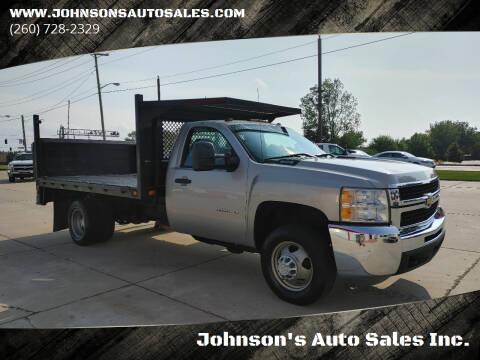 2008 Chevrolet Silverado 3500HD for sale at Johnson's Auto Sales Inc. in Decatur IN